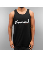 Diamond Tank Tops OG Script nero