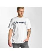 Diamond Tričká OG Script biela