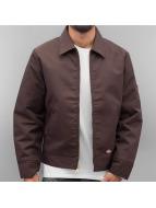 Dickies Lined Eisenhower Jacket Dark Brown