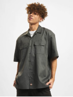 Dickies Camicia Shorts Sleeve Work grigio