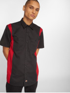 Dickies Camicia 2-Tone Work nero