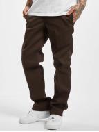 Dickies Slim Straight Work Pants Chocolate Brown