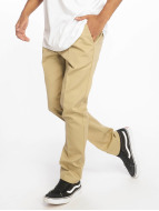 Dickies Chinot/Kangashousut Slim Fit Work khakiruskea
