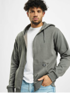 Dickies Hoodies con zip Kingsley grigio