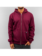 Dickies Hoodies con zip Kingsley rosso