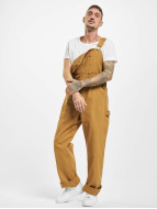 Dickies Jeans Straight Fit Bib Overall Rinsed brun
