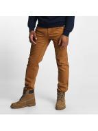 Dickies Pantalon chino Mens Flex Tapered brun