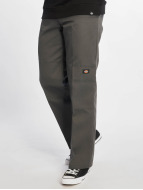 Dickies Pantalon chino Double Knee Work gris