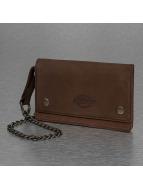 Dickies portemonnee Deedsville bruin