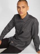 Dickies Longsleeve Work Shirt Charcoal Grey