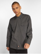 Dickies Shirt Slim Work grey