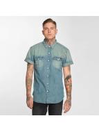 Dickies Skjorte Morro Bay blå