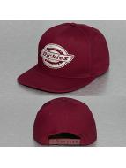 Dickies snapback cap Oakland rood