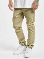 Dickies Spodnie wizytowe Slim Skinny Work bezowy