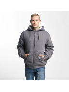 Dickies Sweat capuche zippé Sherpa Fleece gris