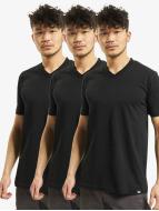 Dickies T-paidat V-Neck 3er-Pack musta