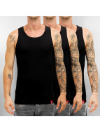 Dickies Tank Tops Proof 3er-Pack musta