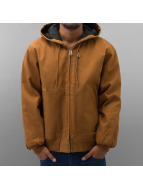 Dickies Veste d'hiver Rigid Duck Hooded brun