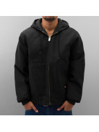 Dickies Winterjacke Rigid Duck Hooded schwarz