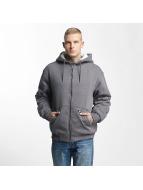 Dickies Zip Hoodie Sherpa Fleece серый