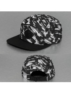 Djinns 5 Panel Caps Yawn 5 Panel Flat negro