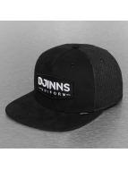 Djinns Casquette Trucker mesh Buns & Sons 5 Panel noir