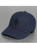Djinns Flexfitted Cap Glencheck A-Flex blau
