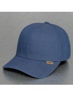 Djinns Flexfitted Cap Linen A-Flex blauw