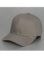 Djinns Flexfitted Cap Linen A-Flex grau