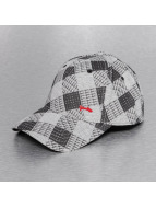 Djinns Flexfitted Cap Allover Check A-Flex grau