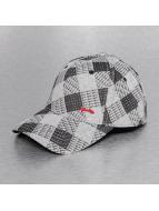 Djinns Flexfitted Cap Allover Check A-Flex grijs
