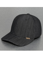 Djinns Flexfitted Cap Linen A-Flex schwarz