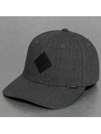 Djinns Lastebilsjåfør- / flexfitted caps Glencheck A-Flex grå