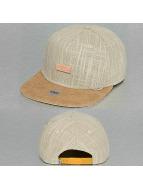 Djinns Snapback Cap 5P Indo Lin beige