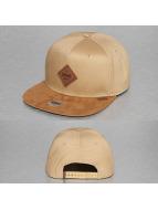 Djinns Snapback Cap 6P Canvas beige