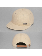 Djinns snapback cap 6P Best Linen beige