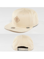 Djinns Snapback Cap Patch & Spots 6 Panel beige
