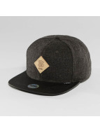 Djinns Snapback Cap Flannel 6 Panel black