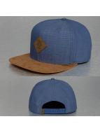 Djinns Snapback Cap Buckle Linen blau