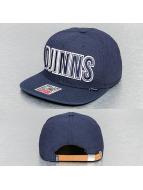Djinns Snapback Cap Glenchek 2.0 blue