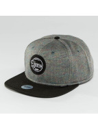 Djinns Snapback Cap Spots Duplex grey