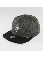 Djinns Snapback Cap 5 Panel Fel Rubber grey