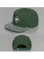 Djinns snapback cap 5P Squeeze II groen