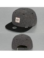 Djinns Snapback Cap 6P Rip Jersey schwarz
