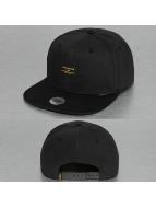 Djinns Snapback Cap 6P Hemp schwarz