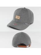 Djinns Snapback Cap Jersey Piqué 6 Panel schwarz