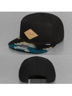 Djinns snapback cap Aztec Felt 6 Panel zwart