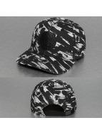 Djinns snapback cap Yawn 6 Panel Curved zwart