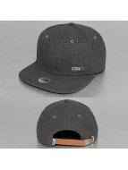 Djinns snapback cap 6P Best Linen zwart