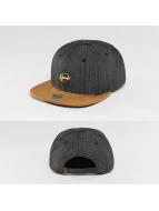 Djinns Snapback Caps Metal Linen 6 Panel czarny